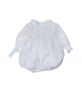 Granlei - Pelele ceremonia beige para bebé