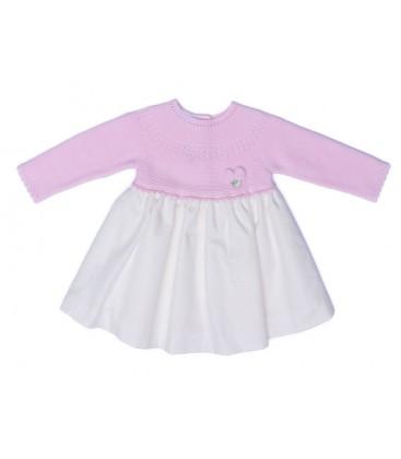 Granlei - Vestido rosa para bebé