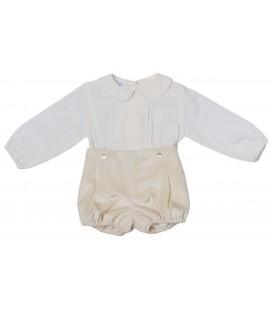 Granlei - Conjunto blusa y bombacho para bebé