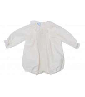 Granlei - Pelele de bautizo beige para bebé