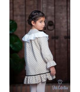 DBB Collection - Vestido tostado para niña