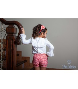 DBB Collection - Conjunto rojo para niña