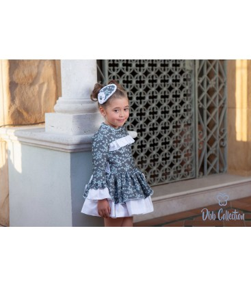 DBB Collection - Vestido gris para niña
