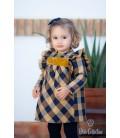 DBB Collection - Vestido cuadros para bebé