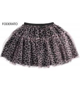 iDo by Miniconf - Falda animal print para niña