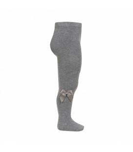 Cóndor - Leotardo algodón con lazo lateral - Gris claro