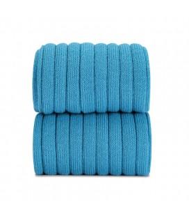 Cóndor - Leotardo básico canalé - Azul turquesa
