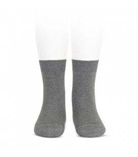 Cóndor - Calcetines básicos punto liso - Gris claro