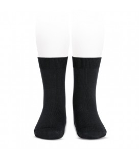 Cóndor - Calcetines básicos punto liso - Negro