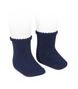 Cóndor - Calcetines cortos puño labrado - Marino