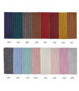 Cóndor - Calcetines altos labrados vertical con lana