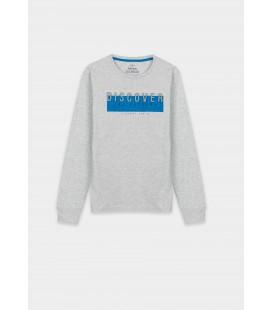 Tiffosi - Camiseta Juan gris para niño