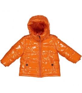 Birba - Cazadora acolchada naranja para bebé