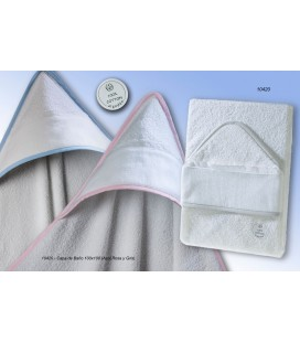 Gamberritos - Capa de baño algodón para bebé