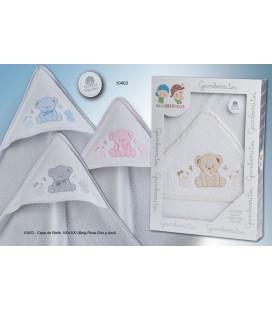 Gamberritos - Capa de baño Ositos para bebé