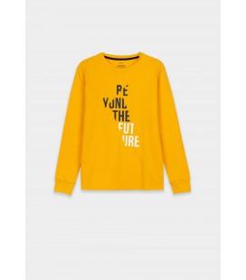 Tiffosi - Camiseta Kelvin amarilla para niño
