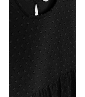 Tiffosi - Vestido Elia negro para niña