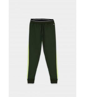Tiffosi - Pantalón Moraty verde para niña
