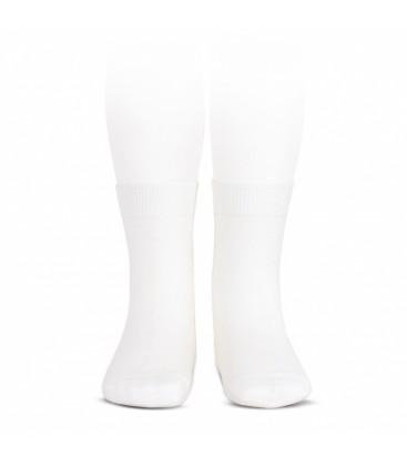 Cóndor - Calcetines básicos punto liso - Blanco