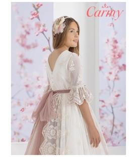 Carmy - Vestido romántico de primera comunión