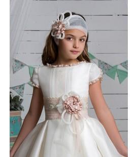 Marla - Vestido primera comunión seda