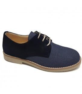 Yowas - Zapato azul marino para niño