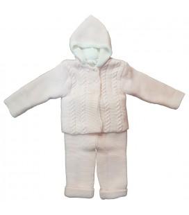 Valentina Bebés - Conjunto sanfrancisco rosa para bebé