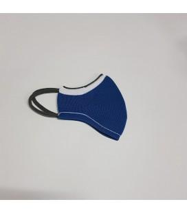 Mantuki - Mascarilla higiénica reutilizable infantil azul