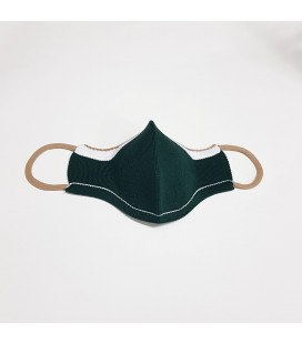 Mantuki - Mascarilla higiénica reutilizable infantil verde