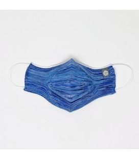 Mantuki - Mascarilla higiénica reutilizable streetwear azul