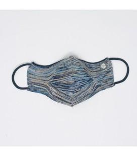 Mantuki - Mascarilla higiénica reutilizable streetwear gris