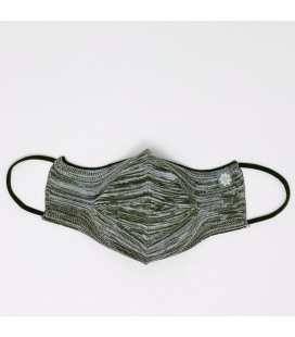 Mantuki - Mascarilla higiénica reutilizable streetwear verde