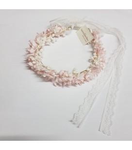Juana Sánchez - Corona de flores para primera comunión
