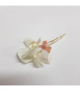 Juana Sánchez - Agujón flor marfil ceremonia