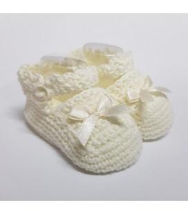 Valentina Bebés - Patucos hechos a mano con lazo