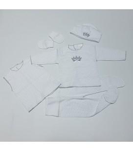 Valentina Bebés - Kit maternidad (5 piezas) algodón