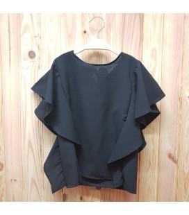 PEOPLE - Blusa negra para niña