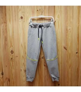 PEOPLE - Pantalón jogger gris para niño