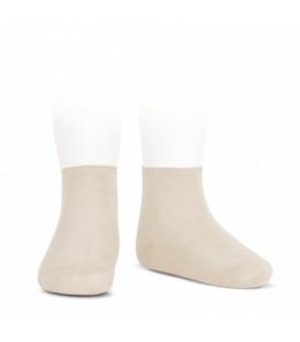 Cóndor - Calcetines tobilleros algodón elástico - Lino