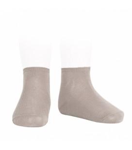 Cóndor - Calcetines tobilleros algodón elástico - Piedra