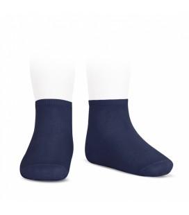 Cóndor - Calcetines tobilleros algodón elástico - Marino