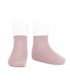 Cóndor - Calcetines tobilleros algodón elástico - Rosa palo