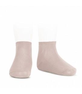 Cóndor - Calcetines tobilleros algodón elástico - Rosa empolvado