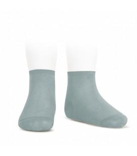 Cóndor - Calcetines tobilleros algodón elástico - Verde seco