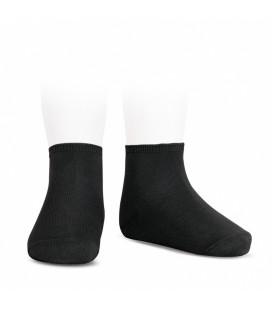 Cóndor - Calcetines tobilleros algodón elástico - Negro