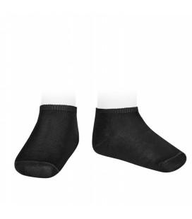 Cóndor - Calcetines invisibles algodón elástico - Negro