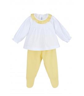 Calamaro Baby - Conjunto polaina Baler amarillo