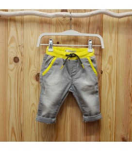 Birba - Pantalón vaquero gris para bebé