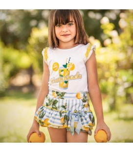 Diverdress - Conjunto Limocello para niña
