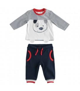 iDo by Miniconf - Chandal jogging azul marino para bebé